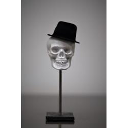 TBO - Crâne avec Chapeau sur piédestal