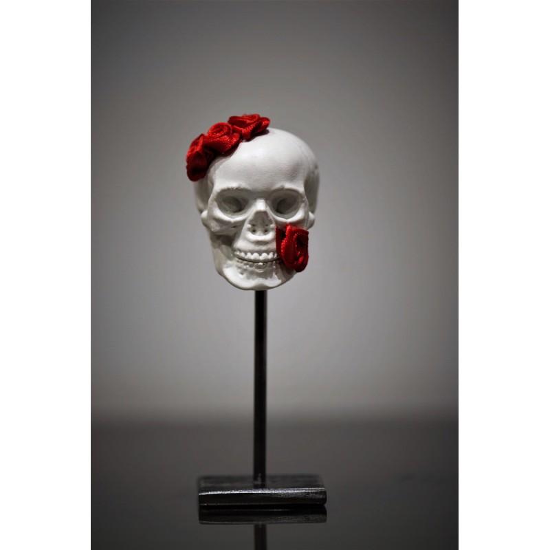 TBO - Crâne avec fleurs