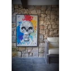 TBO-Skull Multicolore